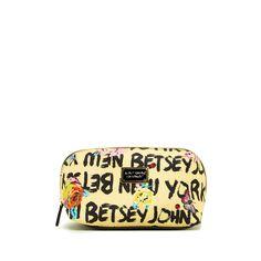Monogram Shop, Cosmetic Bag, Betsey Johnson, Sunglasses Case, Shop Now, Cosmetics, Handbags, Shopping, Totes