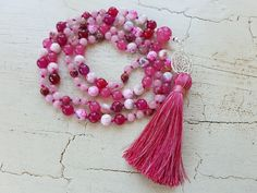 Tassel Necklace, Necklaces, Tassels, Beads, Jewelry, Pearls, Love, Schmuck, Beading
