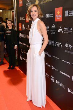 La actriz Aina Clotet en la alfombra roja de la V edición de los Premios Gaudí.