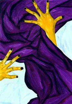 violet yellow in art - Pesquisa Google