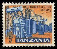 Tanzania Hydhro Electric 5c 1965