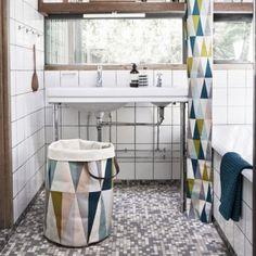 die besten 25 duschvorhang textil ideen auf pinterest v b badezimmerm bel pe leiter und. Black Bedroom Furniture Sets. Home Design Ideas