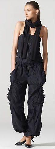 Ralph Lauren cargo pants jumpsuitl