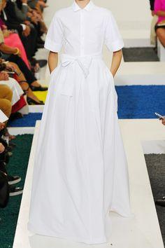 Jil Sander|Language stretch-cotton gown|