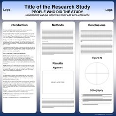 A Poster Powerpoint Template Poster Presentation Template A Poster - Research poster template a1