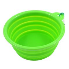 Household Soft Silicone Folding Pet Puppy Dog Cat Water Food Bowl Green - http://www.thepuppy.org/household-soft-silicone-folding-pet-puppy-dog-cat-water-food-bowl-green/