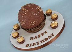 GIANT FERRERO ROCHER Designer Cakes, Ferrero Rocher, Dream Cake, Unique Cakes, Novelty Cakes, Celebration Cakes, Celebrity Weddings, Cake Designs, Luxury Wedding