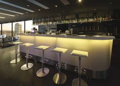 bar modulable led integree moree