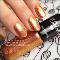 Hard Candy Bronze Champion. Click thru to Beautygeeks for all the Spring 2015 swatches!