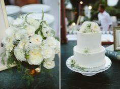 Cayucos, Cass House, Wedding Cake // Anna & Ryan