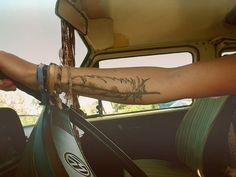 hippie, tattoo, feather