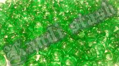 100 GREEN GLITTER/SPARKLE pony beads by KandiStash on Etsy, $2.00
