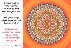 Štěstí | Mandala na každý den Motto, Quotes, Health, Quotations, Mottos, Qoutes, Manager Quotes