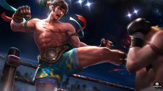 Chou King of the Fighter by makinig on DeviantArt Youtube Banner Backgrounds, Youtube Banners, Mobile Legend Wallpaper, Hero Wallpaper, Black Haired Anime Boy, Online Battle, Splash Screen, King Of Fighters, Picture Logo