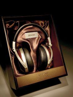 Denon AH-D 7000 Headphones. Beautiful!