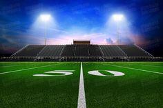 Digital Sports Background - Home Turf - Football