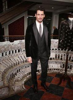 D Gandy en fiesta de D&G 5/1/2014. Inauguración de LCM