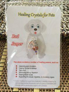 Cat Collar Charm Rutilated Quartz Crystal Collar Charm Gemstone Collar Reiki Infused Dog Collar Charm