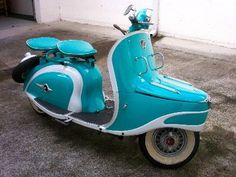 1956 Peugeot Scooter from kellymotodepoca.com