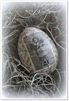 Krek Wak Wou: Vintage eieren