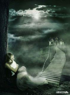 Beautiful and Dark Surreal Art (40 photos | Princess