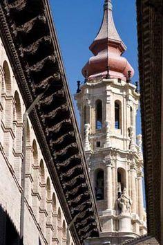 La Seo de San Salvador, Zaragoza Spain
