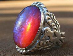 Lovely old thunderbird ring