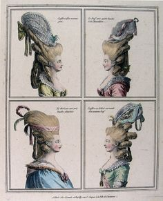 elaborate hair of the 18th century