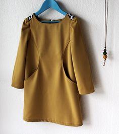 Sunki Dress - based on this pattern:  http://figgyspatterns.com/patterns/sunki/