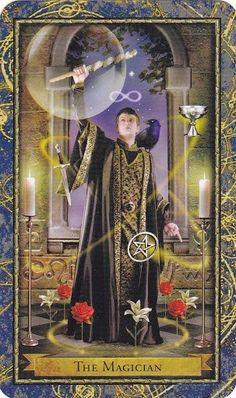 Bài dịch Lá The Magician - Wizards Tarot bài tarot