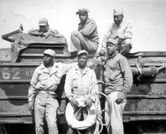 African American soldiers that served during World War II.