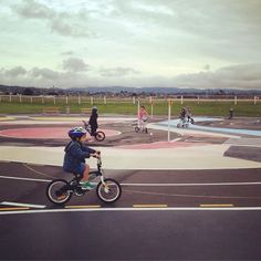 Little kids on wheels: playground bike tracks and beyond - Bike Auckland