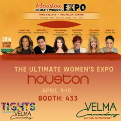d7c7e492fa HOUSTON -- I'm coming back! Come see me at #Booth433 at the Ultimate  Women's Expo April 9-10th www.VelmaCanaday.com/Events.html  shop.VelmaCanaday.com