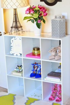 The Sweetest Thing: DIY Mirrored Cube-ical