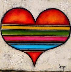 danielle champoux painting  #Art #Coeur #Artwork #artist #Artpainting #Quebec #Canada #québec #painting #Peinture Artwork, Canada, Symbols, Painting, Color, Toile, Artist, Flowers, Paint