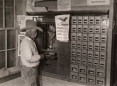 The post office and general store in Castolon, Texas. PHOTOGRAPH BY LUIS MARDEN, NATIONAL GEOGRAPHIC