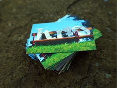 Business Cards on Thick Card Business Cards, Candy, Sweet, Toffee, Visit Cards, Sweets, Name Cards
