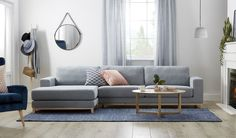 Frankfurt 3 seat reversible chaise - New Ideas Value Furniture, Furniture Update, Bedroom Furniture, Wrought Iron Stairs, Minimalist Architecture, Small Living Rooms, Decor Styles, New Homes, Frankfurt