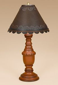 Primitive Colonial Lighting: Liberty Wood Table Lamp | Primitive ...