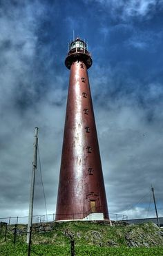 Andenes fyr Andenes Lighthouse	island of Andøya 	Vesterålen archipelago 	Nordland county 	Kongeriket Norge  	55.330833, 10.969583  by JohntheFinn, via Flickr