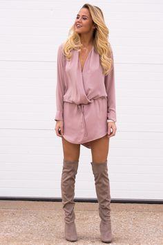 Boulevard Blush Dress