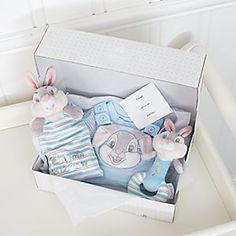 Klopfer Babyausstattung – Baby Geschenkset personalisierbar-Newborn