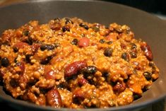Chilis bab, chili con carne, csilis bab - Nemzeti ételek, receptek Beef Recipes, Drink Recipes, Risotto, Macaroni And Cheese, Oatmeal, Food And Drink, Cooking, Breakfast, Ethnic Recipes