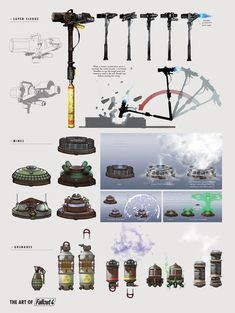 The Art of Fallout 4 - /// Vault 13 — ЖЖ Fallout Weapons, Fallout Props, Fallout Fan Art, Fallout Concept Art, Fallout Cosplay, Cosplay Weapons, Weapon Concept Art, Fallout Theme, Future Weapons