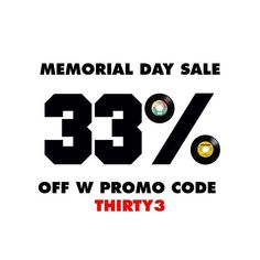 Our annual Memorial Day Sale is live. Get 33% OFF everything in the shop with promo code THIRTY3 sale ends midnight next Monday #Selector #MemorialDay #Sale #2018 #LinkInProfile