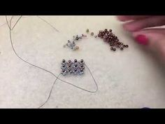 Hubble Stitch Demo--Lefthand beading tutorial - Jewelry to make Seed Bead Tutorials, Diy Jewelry Tutorials, Beading Tutorials, Beading Patterns Free, Beaded Jewelry Patterns, Bead Patterns, Super Duo, Ring Tutorial, Beading Projects