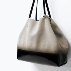OMBRE LEATHER SHOPPER-Handbags-Woman-COLLECTION SS15 | ZARA United States