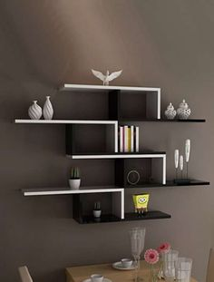 Designers create multiple forms of modern Wall shelves, they took a solution for small spaces, and their intricate designs suit every room in the House, if you want to add a modern touch to your home décor Home Decor Furniture, Diy Home Decor, Furniture Design, Room Decor, Bookshelf Design, Wall Shelves Design, Decorative Wall Shelves, Unique Wall Shelves, Wall Shelving