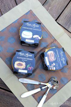 Mercredi, journée de découvertes : Marie Morin ! – Les enfants de Peau d'âne  #cheesecake #clafoutis #cerisesgriottes #amandineauxpoires