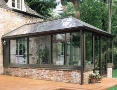 Easy Living Series 230 Conservatory · Sunroom KitsLean ToSunrooms ConservatoryGeorgian